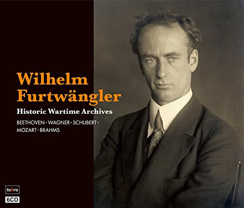 戦時のフルトヴェングラー ~ ターラ編 ~ (Wilhelm Furtwangler ~ Historic Wartime Archives/Beethoven | Wagner | Schubert | Mozart | Brahms) [6CD] [日本語帯・解説付]