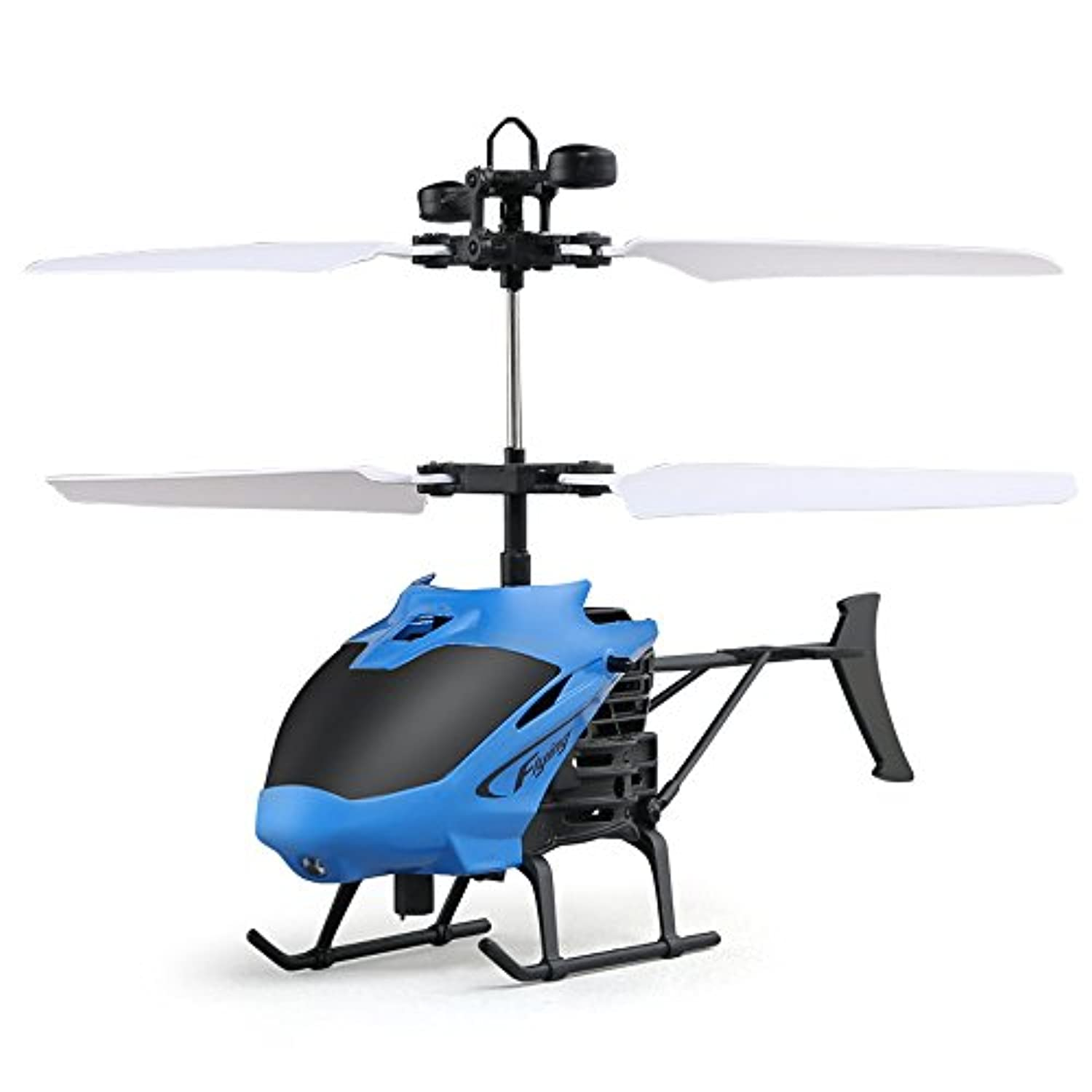 Helicopter Flying Mini RC航空機Infraed誘導点滅ライトおもちゃforキッド