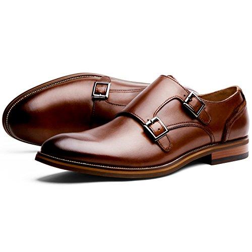 (フォクスセンス) Foxsense ビジネスシューズ 紳士靴 革靴 本革 メンズ モンクストラップ 7枚目のサムネイル
