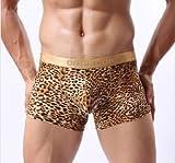 LocoMotion (ロコモーション) メンズ パンツ ブリーフ ドキドキ おもしろ 下着 男性用 (ジャガートランクスM)