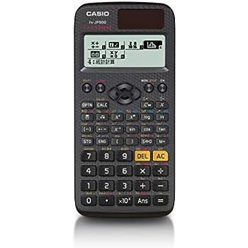 カシオ 関数電卓 FX-JP500-N 高精細 日本語表示 関数・機能500以上