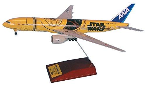 全日空商事 1/200 B777-200 JA743A C-3PO ANA JET 完成品 (ギアつき)の詳細を見る