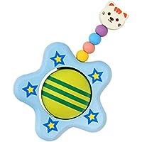 SONONIA キュート 木製 猫 赤ちゃん  子供  おもちゃ  リング ガラガラ 飾り 贈り物