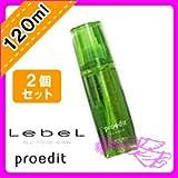 ルベル プロエディット ヘアスキン ウェイクウォータリング 120ml ×2個 セット 硬さが気になる地肌をすこやかに LebeL proedit