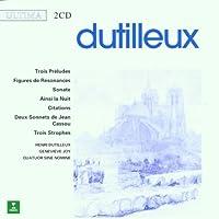 Dutilleux: Chamber Music