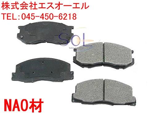 HONDA ホンダ S-MX(RH1 RH2) アコード・トルネオ(CD6 CD8 CF2 CF4 CF5 CF6 CF7 CH9 CL2 CL3) アバンシア(TA1 TA3) インスパイア(CC2 UA2 UA3 UA4) フロントブレーキパッド 06450-S0A-J00