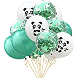 BESTOYARD 風船セット かわいい パンダ印刷風船 ラテックス風船キット 結婚式 赤ちゃん 誕生日 12インチ 15本