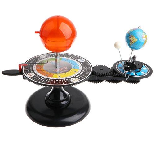 Kesoto ソーラーシステムモデル 太陽 地球 月 太陽系 軌道模型 プラネタリウム玩具