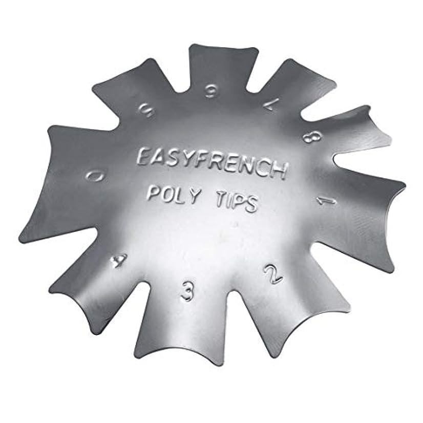 クラッチ成長交響曲3ピース/セット丈夫な金属ステンレス鋼フレンチマニキュアモデリング整形プレートクリスタルネイル作りスタンピングプレート