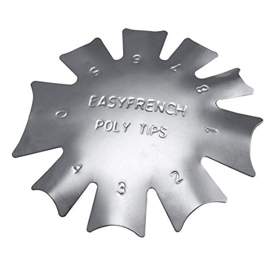 ペインティングバクテリアフォーカス3ピース/セット丈夫な金属ステンレス鋼フレンチマニキュアモデリング整形プレートクリスタルネイル作りスタンピングプレート