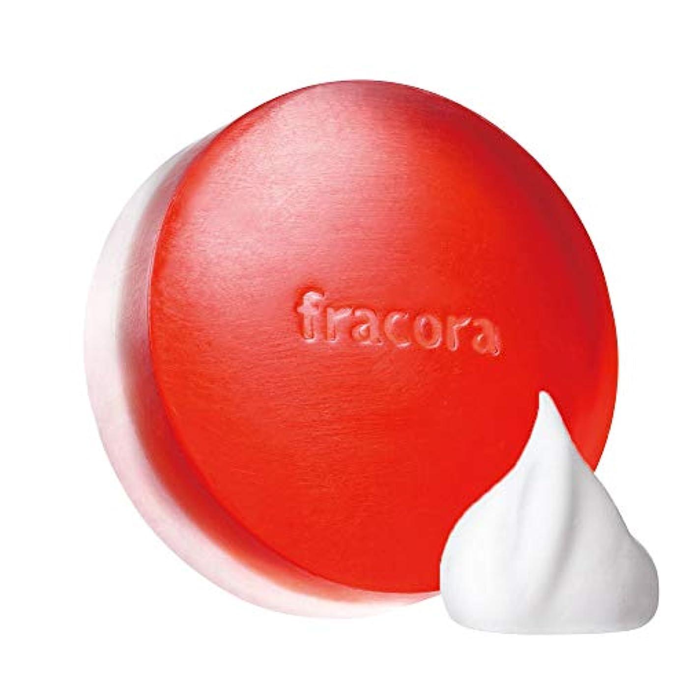 スキャン担当者液化するfracora(フラコラ) モイスト&エナジーソープ 80g