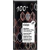 ヴィヴァーニ(Vivani)オーガニックエキストラダークチョコレート 100%+カカオニブ 80g