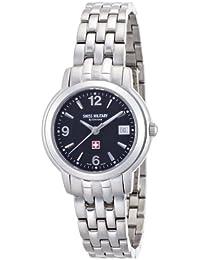 [スイスミリタリー バイグロバナ]SWISS MILITARY by Grovana 腕時計 ブラック 5581.1237 レディース 【正規輸入品】
