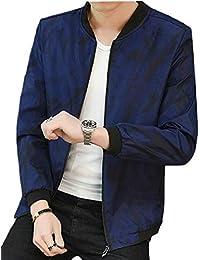 Keaac メンズロングスリーブカラーブロックVネックスウェットシャツカジュアルプルオーバーTシャツ