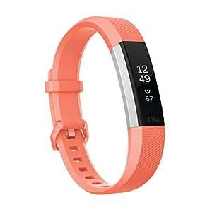 【日本正規代理店品】Fitbit(フィットビット)心拍計+フィットネスリストバンド Alta HR Small Coral FB408SCRS-CJK