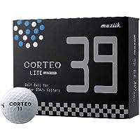 muziik ゴルフボール コルテオライト39 1ダース