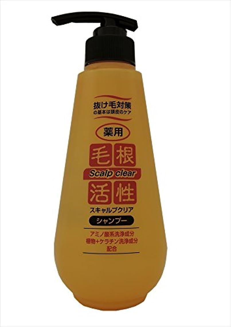 パテ修正するロデオ薬用 毛根活性 シャンプー 500ml