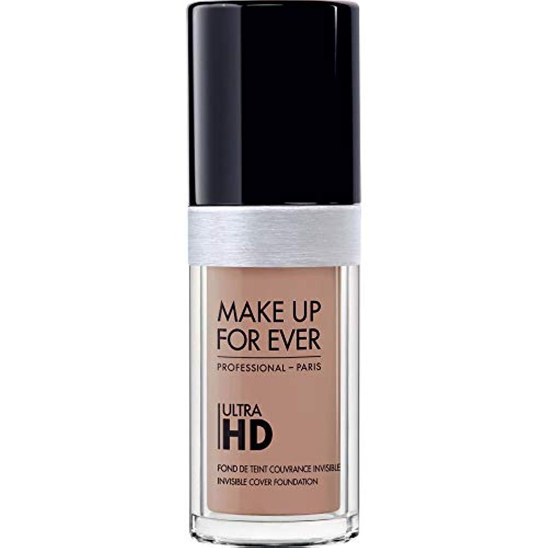 ナプキン絡まる争う[MAKE UP FOR EVER ] 目に見えないカバーファンデーション30ミリリットルのR360 - - これまでの超Hdの基盤を補うニュートラル - MAKE UP FOR EVER Ultra HD Foundation...