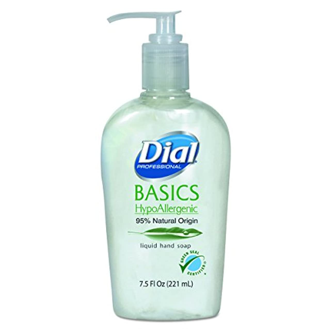 分析頬骨先のことを考えるダイヤル06028 CTプロフェッショナルBasics Liquid Hand Soap、7.5オンス、ローズマリー&ミント(ケースof 12 )
