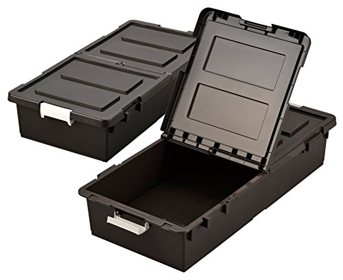 JEJ ベット下収納ボックス 2個組 ブラウン BR 【日本製】 9504290