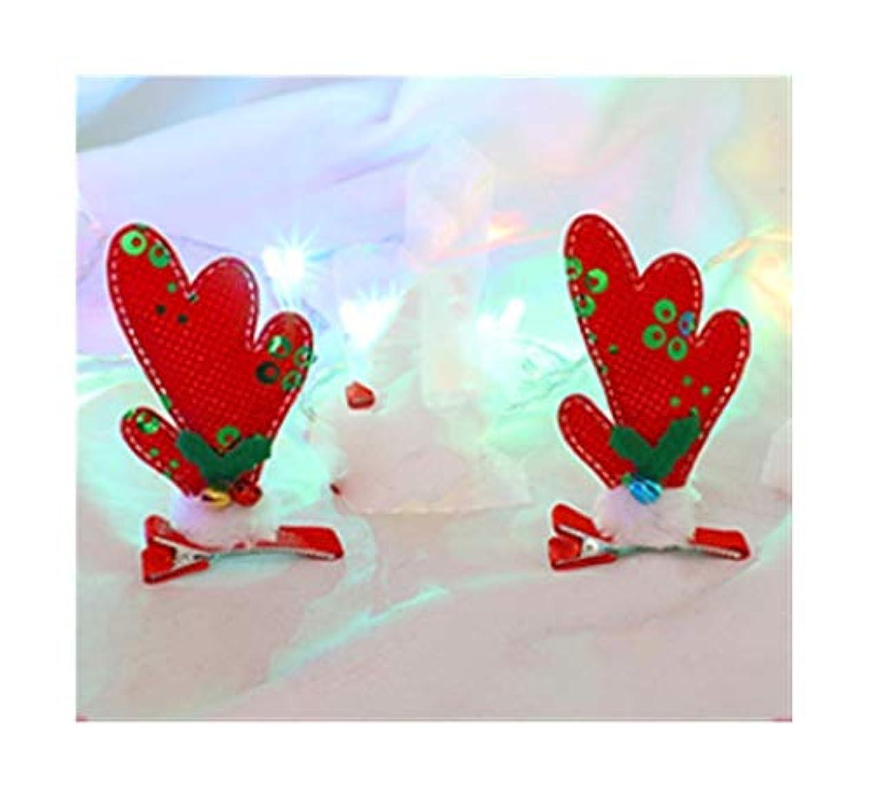 説教セットする先入観エルクヘアピンクリスマス枝角ヘッドドレス子供たちは、装飾女性の生地創造のヘアアクセサリーの女の子のカードを着用します (スタイル : B)