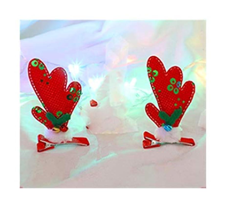 インク納得させる閃光エルクヘアピンクリスマス枝角ヘッドドレス子供たちは、装飾女性の生地創造のヘアアクセサリーの女の子のカードを着用します (スタイル : B)