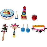 Baoblaze 全3種類 子供の楽器のおもちゃ 可愛い おもちゃ 音楽 音楽おもちゃ - 8個