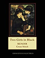 Two Girls in Black: Renoir Cross Stitch Pattern