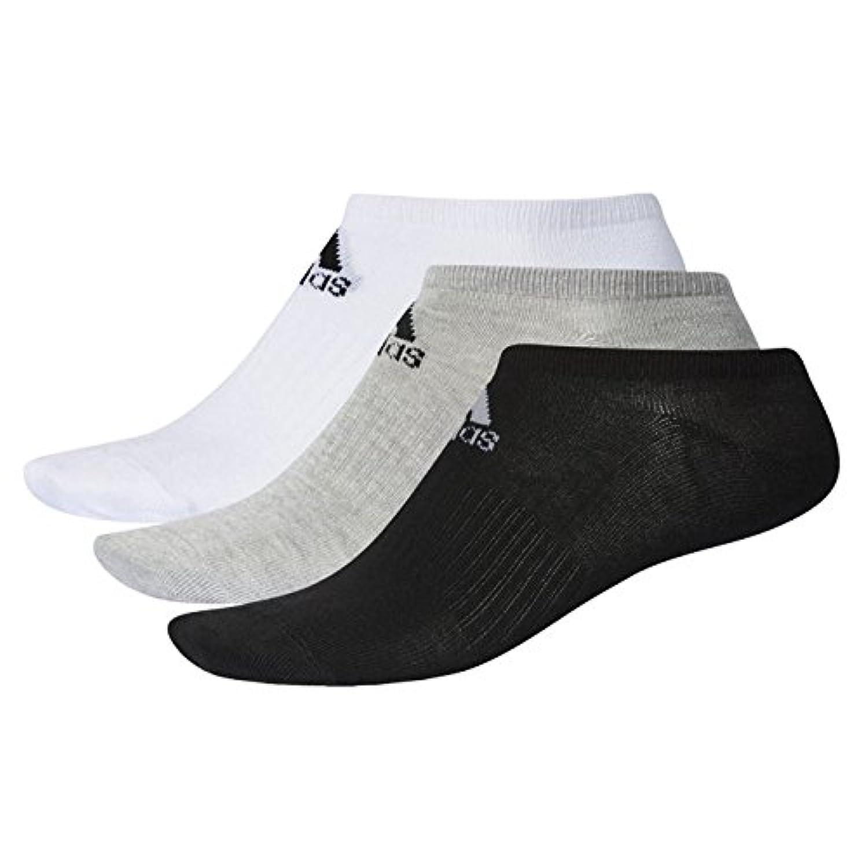 アディダス(adidas) ベーシック アンクル ソックス 3足セット 3Pソックス DMK57 1709 メンズ レディース