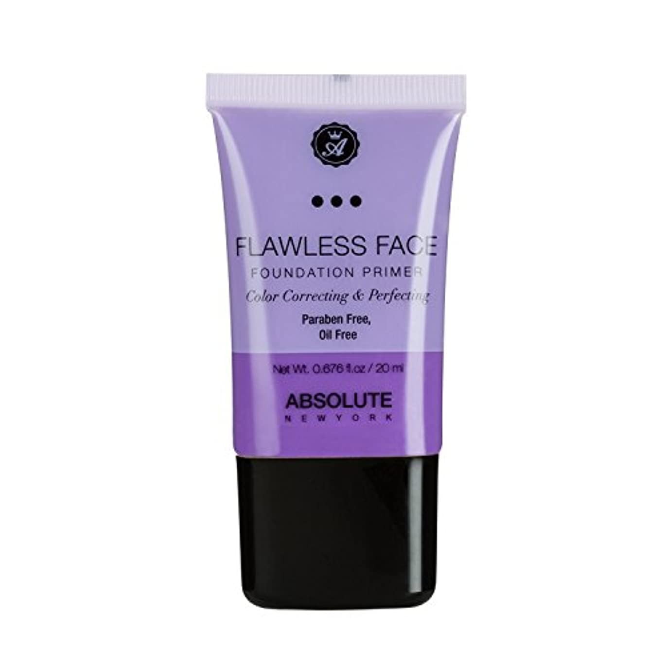 (3 Pack) ABSOLUTE Flawless Foundation Primer - Lavender (並行輸入品)