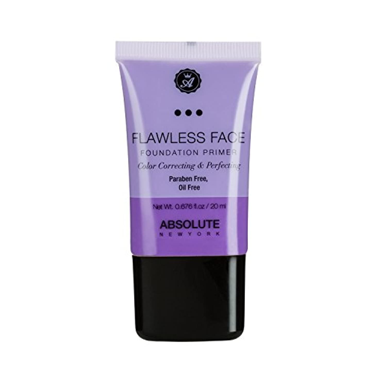 店主レルム海岸(3 Pack) ABSOLUTE Flawless Foundation Primer - Lavender (並行輸入品)