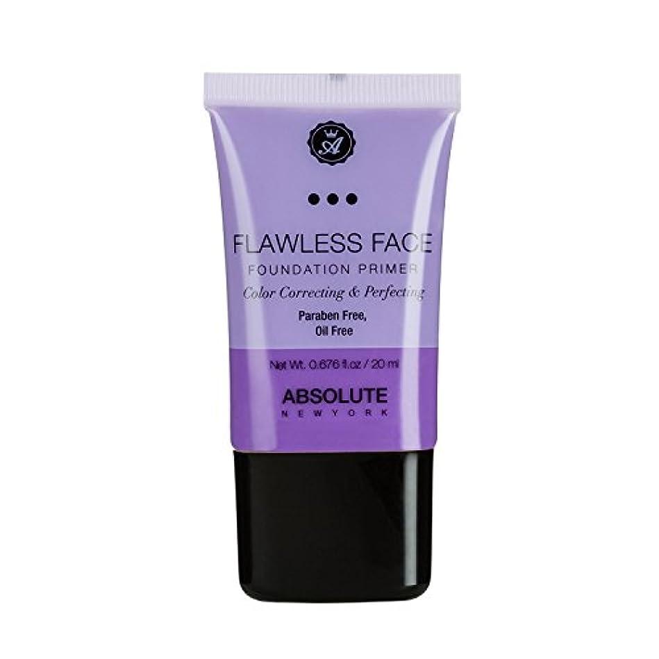 窓台無しに弾薬(3 Pack) ABSOLUTE Flawless Foundation Primer - Lavender (並行輸入品)