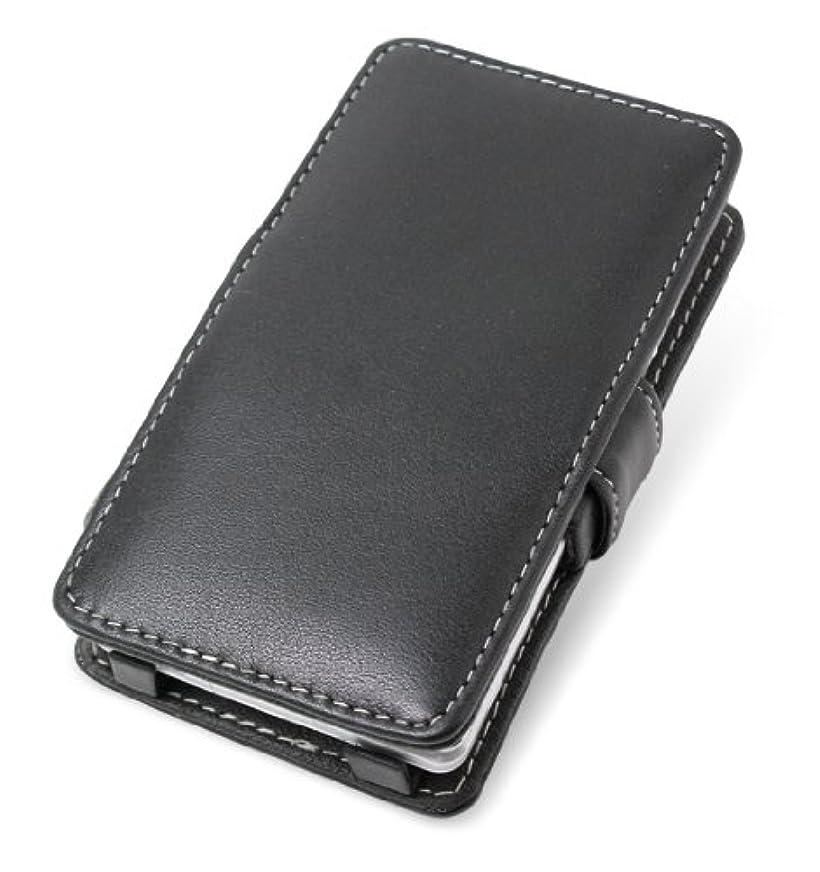 そこからブース資本ミヤビックス PDAIR レザーケース for AQUOS PHONE SERIE ISW16SH au 横開きタイプ(ブラック) PALCISW16SHB/BL