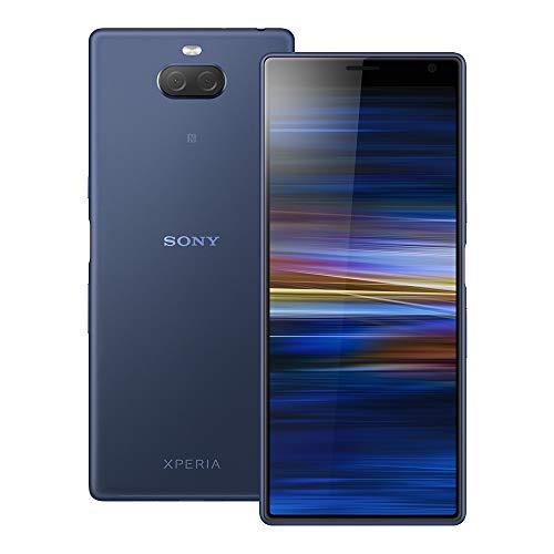 Sony Xperia 10 Plus (I4293) 6GB / 64GB 6.5インチLTEデュアルSIM SIMフリー [並行輸入品] (ネイビー)