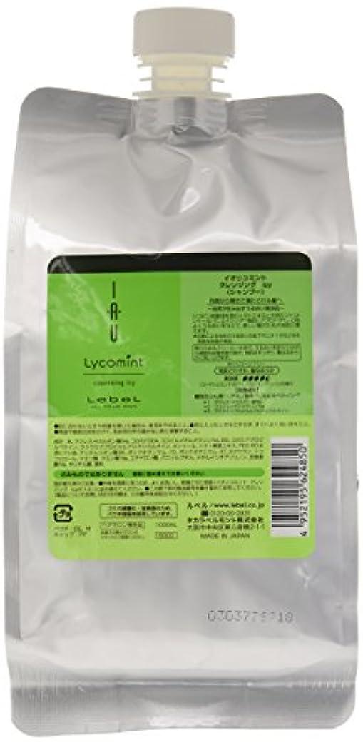 消毒するディスクロッドルベル イオリコミント クレンジングicy(シャンプー) 1000ml 詰め替え
