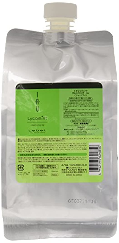 正当化する有益な険しいルベル イオリコミント クレンジングicy(シャンプー) 1000ml 詰め替え