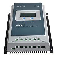MPPTソーラー充電コントローラ30A Tracer3210A LCDディスプレイ付き12V/24Vオートワーク390W/780W入力最大PV 100V(30A、Tracer3210A)ソーラーパネル発電機