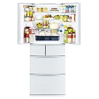 三菱 475L 6ドア冷蔵庫(シルクホワイト)MITSUBISHI 置けるスマート大容量 切れちゃう瞬冷凍 MR-JX48LY-W