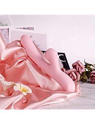 脚 マッサージ バイブレーターUSB充電式 AVマジック ワンドバイブレーター マッサージャー 大人のおもちゃ女性用 10スピード電動マッサージ器 42度加熱 自由に曲げられる (ピンク色)