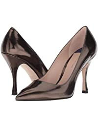 Stuart Weitzman(スチュアートワイツマン) レディース 女性用 シューズ 靴 ヒール Tippi 95 - Pewter Specchio [並行輸入品]