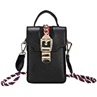 Crossbody Cell Phone Purse Wallet For Women PU Leather Handbag with Detachable Strap