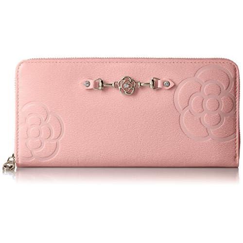 [クレイサス] ラウンド長財布 レティーロ 187011 33 ピンク