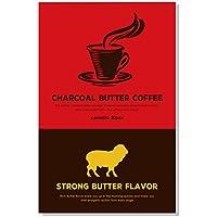 チャコール バターコーヒー 活性炭と4種のオーガニック原料入り 39g (1.3g×30包)