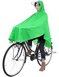 【krosta】グッジョブ!! 自転車用 ロングレインコート ポンチョタイプ フリーサイズ
