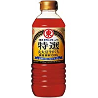 ヒガシマル醤油 特選丸大豆うすくちしょうゆ500ml×2個