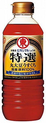 ヒガシマル ヒガシマル 特選丸大豆うすくちしょうゆ 500ml