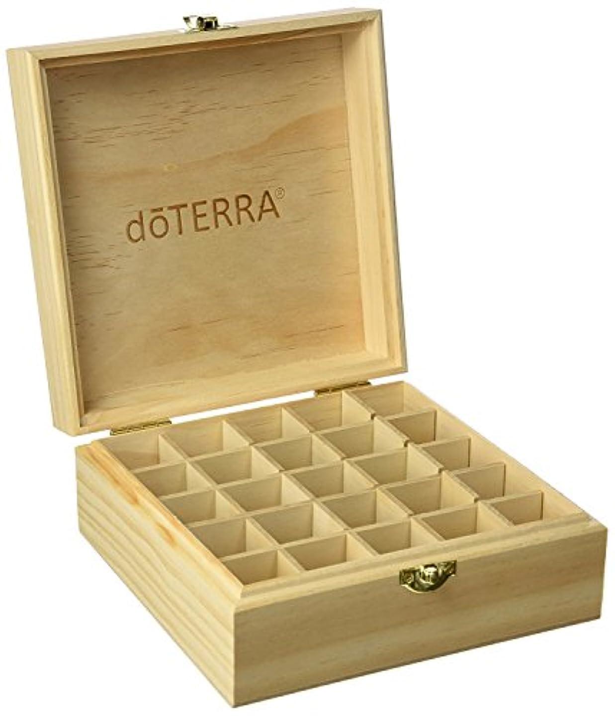 急流小さなトランペットエッセンシャルオイル収納ボックス25本用 エッセンシャルオイルボックス 20 mlのボトルを15 mlのための25のブロックによって木製のキャビネット