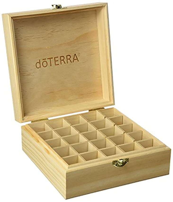 生き残りヤング郵便物エッセンシャルオイル収納ボックス25本用 エッセンシャルオイルボックス 20 mlのボトルを15 mlのための25のブロックによって木製のキャビネット