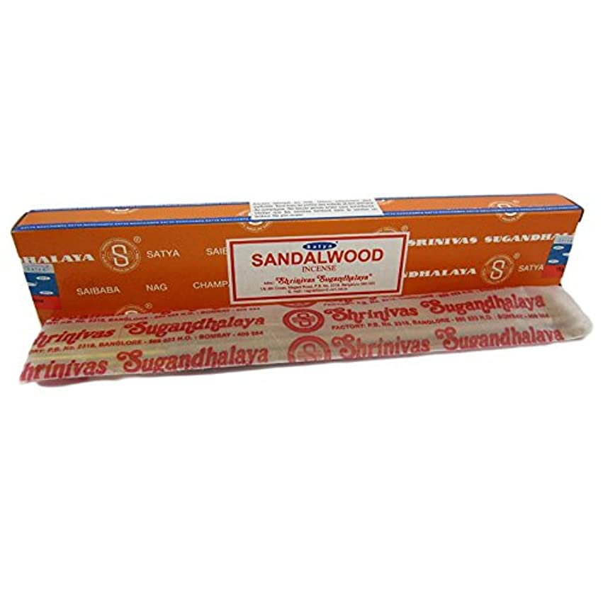 汚い余分なベアリングSandalwood Nag Champa Incense Sticks 15g Box