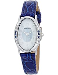 [ピエールカルダン]pierre cardin 腕時計 ソーラー 天然石 6Pサファイア PC-793 レディース
